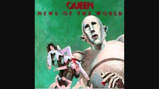 Queen - Sleeping on the Sidewalk - News of the World - Lyrics (1977) HQ