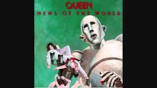Queen - Sleeping on the Sidewalk - News of the World - Lyrics (1977) HQ