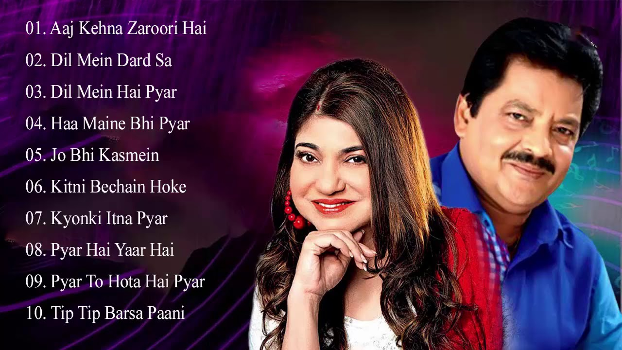 Best Of Udit Narayan & Songs Alka Yagnik ? EVERGREEN ROMANTIC SONGS_Awesome Duets _Superhit Juke
