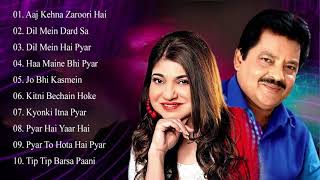 Best Of Udit Narayan & Songs Alka Yagnik 💖 EVERGREEN ROMANTIC SONGS_Awesome Duets _Superhit Jukebox