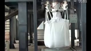Emballage sac d'engrais tonne-linge: grosse machine sac d'emballage