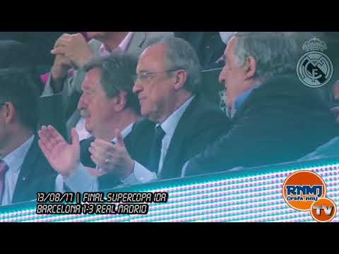 Reacción de FLORENTINO PEREZ al GOLAZO de MARCO ASENSIO en la FINAL SUPERCOPA ESPAÑA 2017