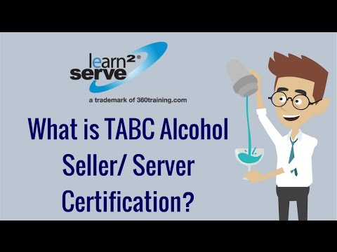 What is TABC Alcohol Seller/ Server Certification? | Learn2Serve ...