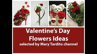Valentines Floral Arrangement Ideas - Best Valentine