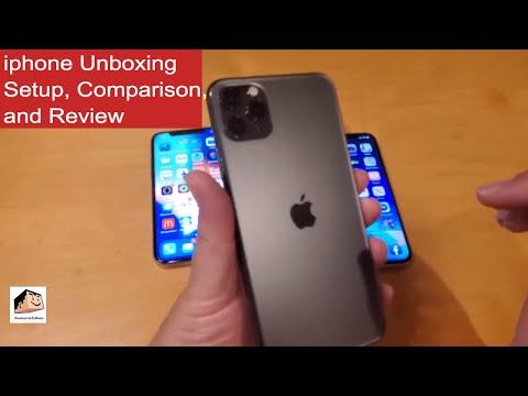 Apple Iphone 11 Pro Max Unboxing, Setup, Comparison, & Review