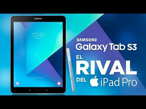 Samsung Galaxy Tab S3, análisis en español streaming vf