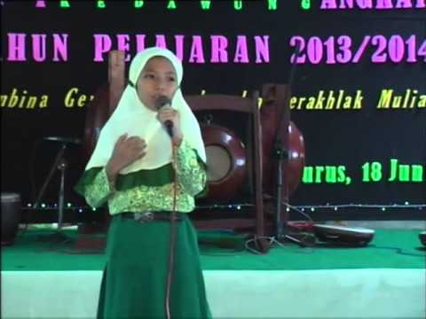 Puisi Sedih Untuk Ibu - Puisi Anak Bikin Nangis Wisuda Akhirussanah RA AN-NISA