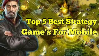 Top 5 Best Strategy Games That You Should Try
