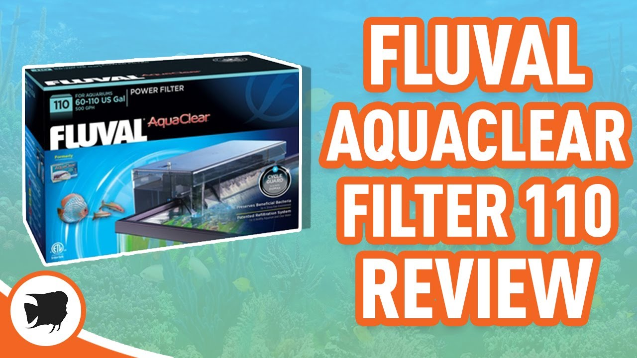 Review and how it works Fluval Aquaclear 50 - YouTube