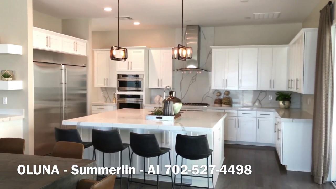 Oluna by Lennar homes - Summerlin New Homes [Large Homes ...