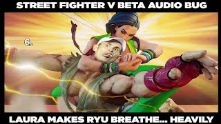 Street Fighter 5 – Funny Audio Bug