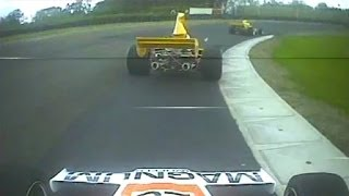 Formula 5000: Lola 332 at Manfeild