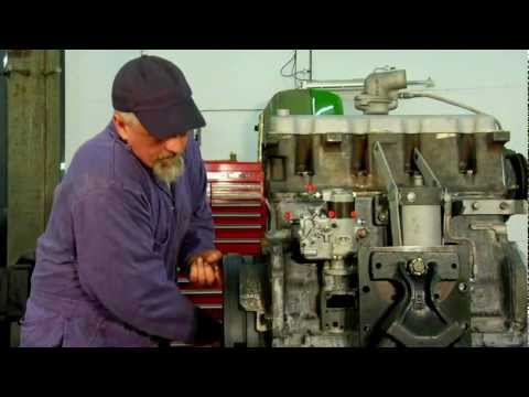 Installing A Diesel Injection Pump Setting The Timing