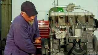 Installing a Diesel Injection Pump & Setting the Timing