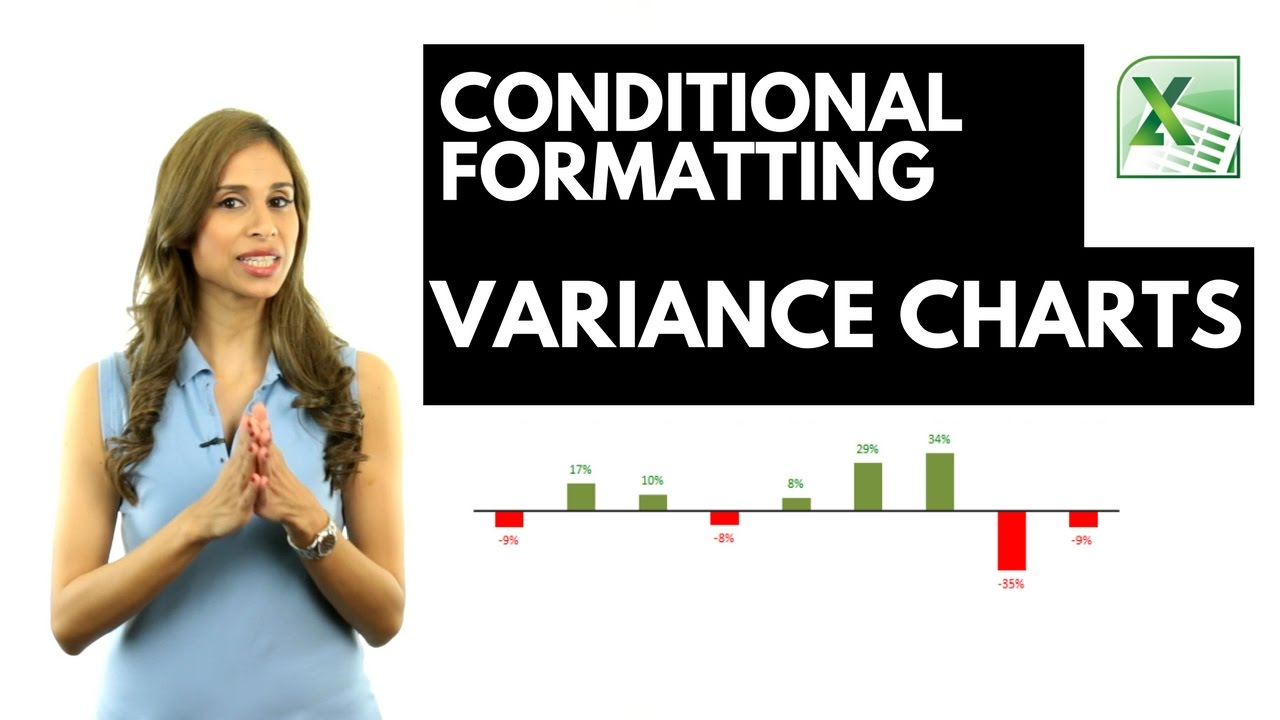 Excel Variance Charts: Actual to Previous Year or Budget Comparisons