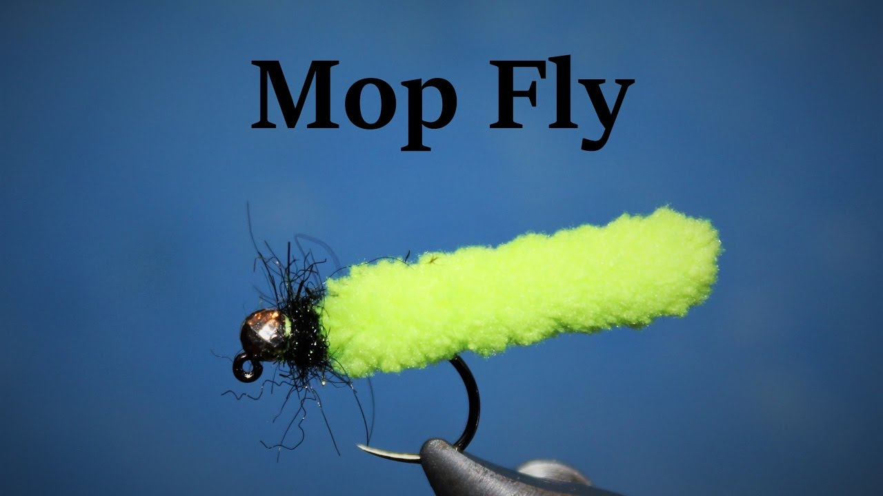 Fly Tying: The Mop Fly...