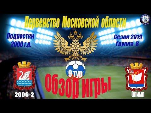 Обзор игры ФК Салют (Долгопрудный 2006-2) 5-0 СШ Олимп (Фрязино)