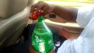 How to pour up Da drank dirty sprite
