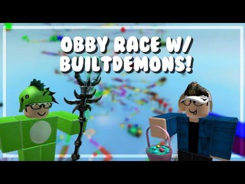 Obby Race w/ Builtdemons! - Pnjlife