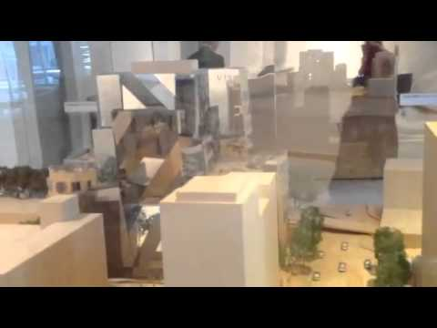 UTS Dr Chau Chak Wing Building By Frank Gehry Model