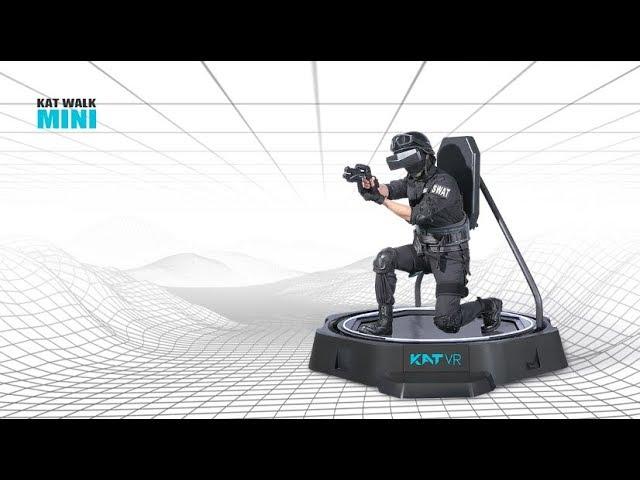 Introducing the KAT Walk mini - 'Ready Player One' VR Treadmill