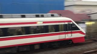 【りょうもう】東武200系 特急 りょうもう(通過)& 10000系@堀切駅