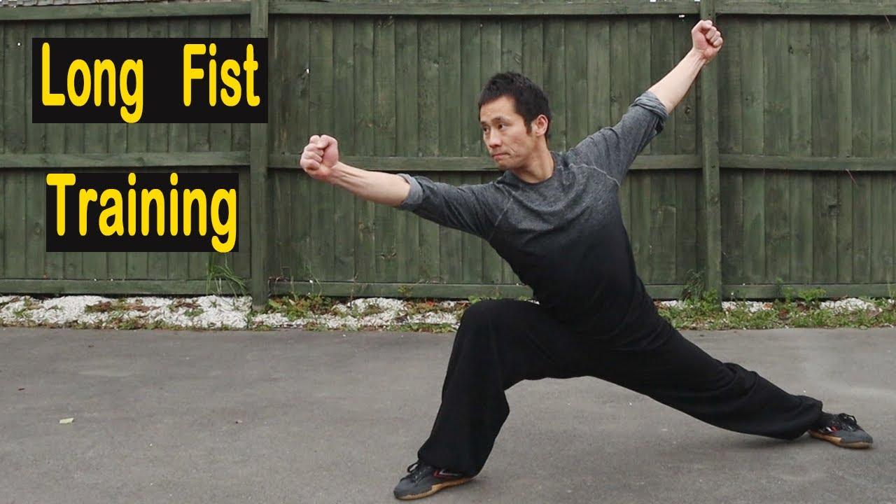 Wushu Long Fist Training - The Difference Between Kung Fu & Wushu