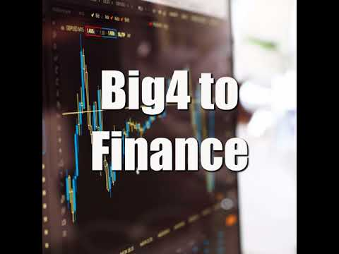 Big 4 Accounting to Financial Analyst