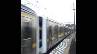 185Mで内房線各駅停車安房鴨川行です。