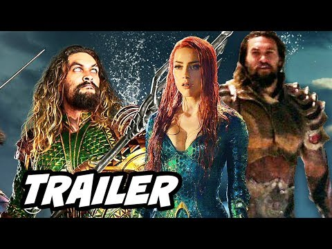 Download Youtube: Justice League Aquaman Trailer - New Armor Upgrade Scene Breakdown