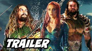 Justice League Aquaman Trailer - New Armor Upgrade Scene Breakdown