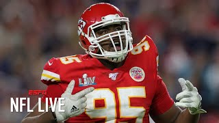 Chiefs' Chris Jones agrees to a deal worth up to $85M | NFL Live