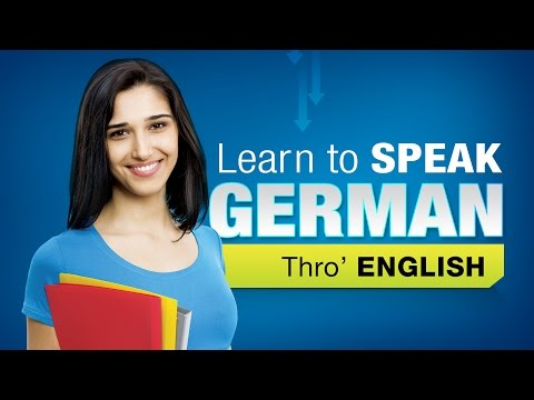 Learn German Through English | Learn German For Beginners | German Grammar
