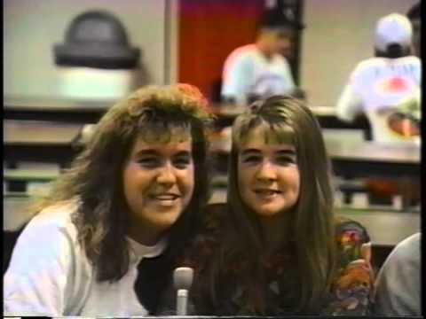 hononegah high school 1992 video yearbook