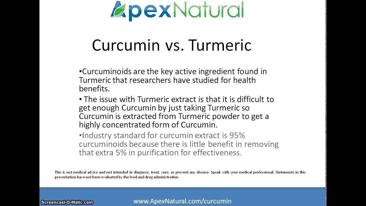 What Is Curcumin ? Understanding Turmeric vs Curcumin - YouTube