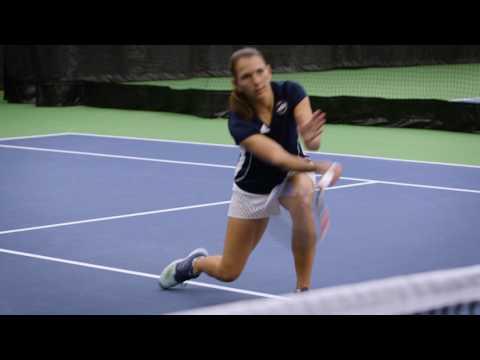 Thumbnail: Tennis Troubleshooting: Take A Bite out of the Ball on Volleys
