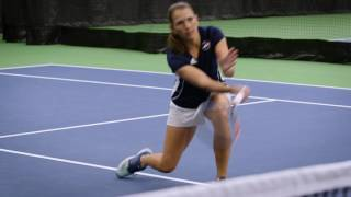 Tennis Troubleshooting: Take A Bite out of the Ball on Volleys