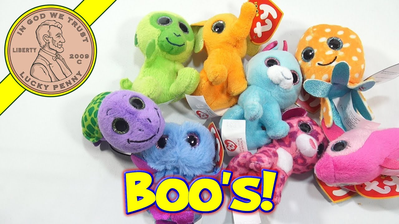 TY Teenie Beanie Boo\'s Complete Set, 2014 McDonald\'s Happy Meal Toys ...