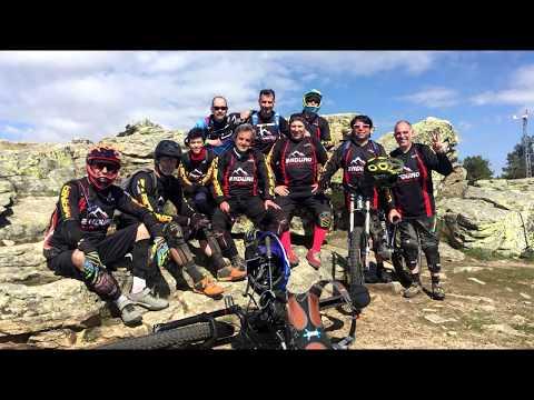 Bajada GR-10 Camino de Abantos con Enduro E-Bike Madrid