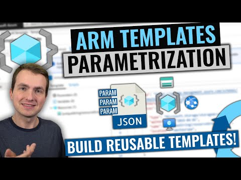 ARM Templates Parametrization | Expressions, Parameters And Variables