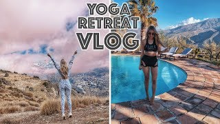 YOGA RETREAT IN SPAIN, THIS TRIP WAS LIFE CHANGING FOR MY HEALTH, IBS & ANXIETY VLOG |