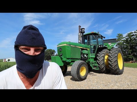 Someone BROKE INTO My Tractor! *CAUGHT*