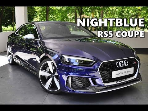 nightblue audi rs5 coupe 2018 youtube. Black Bedroom Furniture Sets. Home Design Ideas