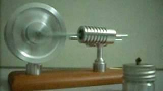 stirlingmotor Twin Flywheel Hot Air Motor Stirling Engine-moteur de stirling