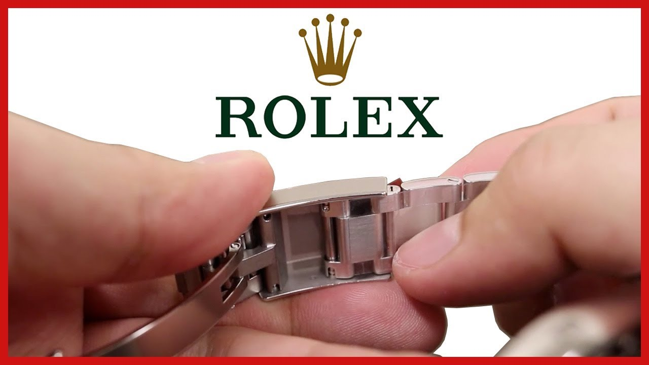 Rolex Daytona How To Open Adjust Deployment Clasp Oyster