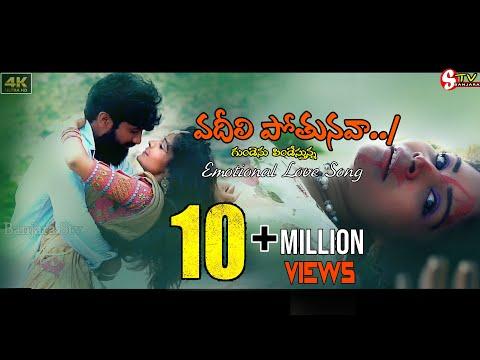 #vadilipothunava Nannu Ontari Chesava  Letest Video Song ప్రేమికుల గుండెలను కారిగించే ప్రేమ పాట//stv