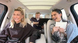 Download Video Carpool Karaoke: The Series - Kendall Jenner & Hailey Baldwin Take a Lie Detector Test MP3 3GP MP4