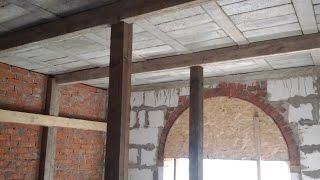Перекрытие по деревянным балкам. Как сделать быстро и надежно
