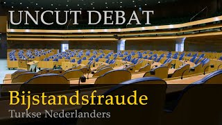 Bijstandsfraude door Turkse Nederlanders | Tweede Kamer