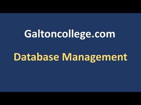 N0604ND  Database Management
